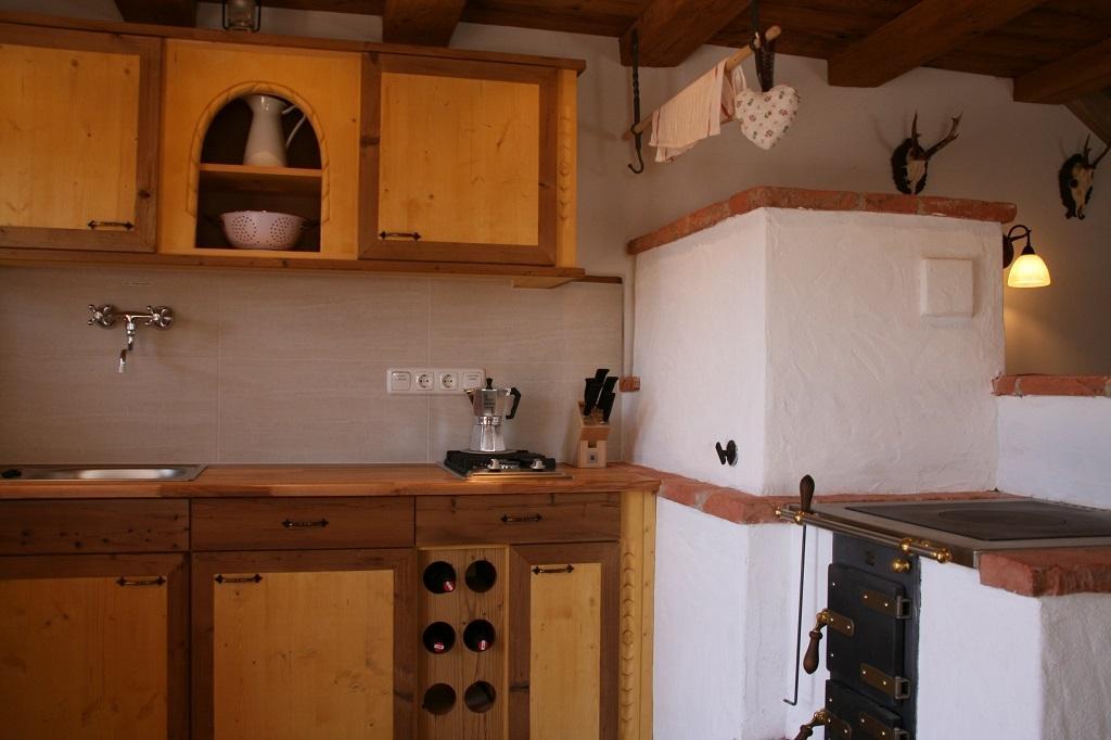 Holzofen Küche