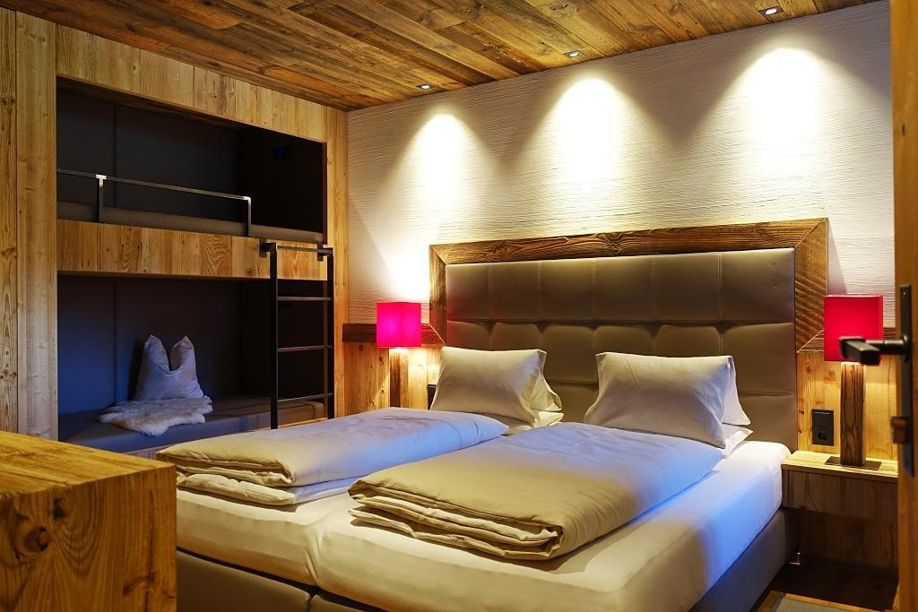 Premium Chalet Bergfeuer Mit Sauna Im Pongau ... Und Außergewöhnlichem  Stockbett Für Die Kids .