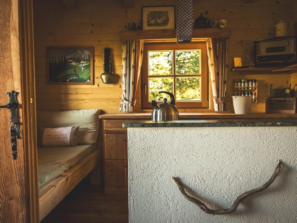 Larchhüttn Pfaffenhofen | Berghütte für 2-4 Personen mieten