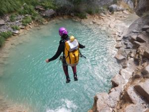Bei Canyoning
